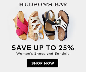 (5/6-5/31) Up to 25% off women's shoes and sandals at TheBay.com