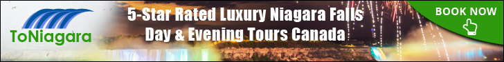 5 Star Rated Luxury Niagara Falls Day & Evening Tours