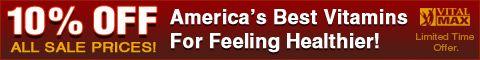 અમેરિકાના શ્રેષ્ઠ વિટામિન્સ પર 10 સાચવવા માટે ક્લિક કરો