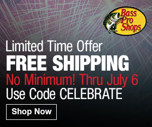 Bass Pro Shops - Free Shipping on any Fishing Purchase with Code FISH14