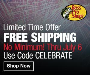 Bass Pro Shops - Free Shipping $75+