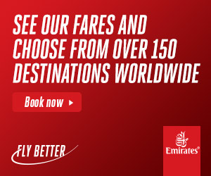 Fly Emirates to over 140 destinations