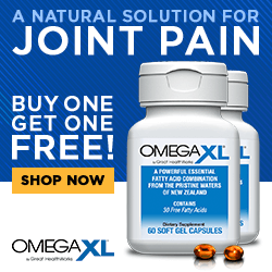 OmegaXL - A Natural Joint Pain Solution