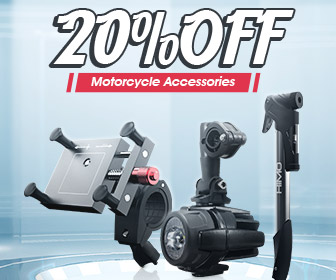 Image for 20% OFF Coupon For Motorcycle Accessories