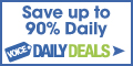 Save up to 90% Daily