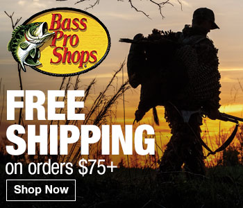 FREE Shipping on Orders of $75 or More at Basspro.com