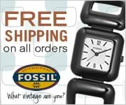 Free Shipping on ALL watches at Fossil.com