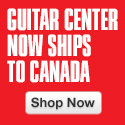 Canada: Guitar Center is now shipping to Canada!