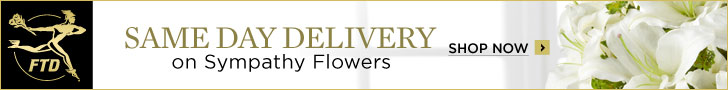 Same Day Delivery on Sympathy and flowers at FTD