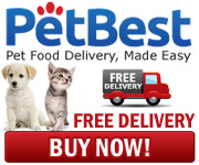 PetBest Pet Food for Dogs, Cats, Parakeets, and other animals. Free Delivery.