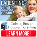 Achieve Calmer, Happier, Easier Parenting!  Click to learn more!