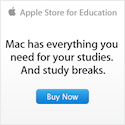 Buy a Mac, iPad or iPhone for college by Sept 9 and get an Apple Store Gift Card