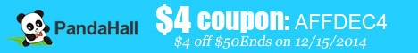 $4 off $50 sitewide coupon (code:AFFDEC4), ends on Dec 15, 2014.