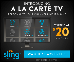 SlingTV - Introducing a la carte TV