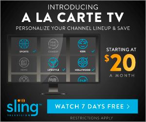 Sling TV a la carte TV