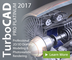 TurboCAD Pro Platinum - premium 2D/3D CAD with specialized professional toolsets.