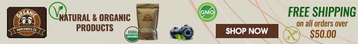 Natural & Organic Products + Free Shipping