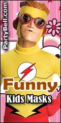 Funny Kids Masks - PartyBell.com