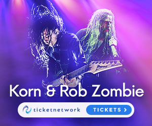 Korn & Rob Zombie Tickets