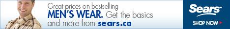 Men's Wear at Sears.ca