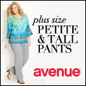 $25 off Plus Size clothing at avenue.com!