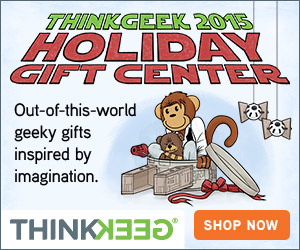 Pick up a unique Christmas gift at Think Geek!
