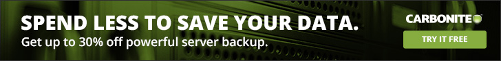 Save up to 30% on server backup built just for SMBs. Try it free today!