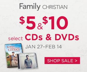 $5 & $10 CDs & DVDs