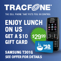 125x125 - Samsung T301G - $10 Lunch On Us
