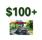 AutoZone- $100 Plus Gift Card
