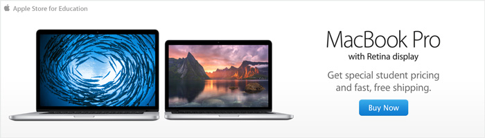 MacBook Pro with Retina display. Get special student pricing and fast, free shipping.