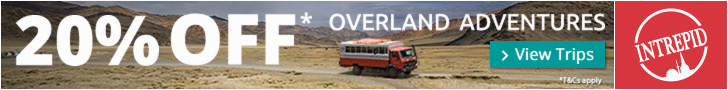 20% Off Dragoman Overland Trips w/ Intrepid Travel