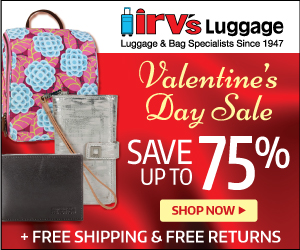 Irv's Luggage Valentine's Day Gift Deals
