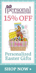 15% off Personalized Easter Gifts from Personal Creations