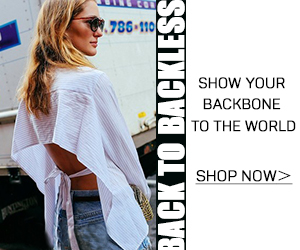 Show Your Backless To The World !