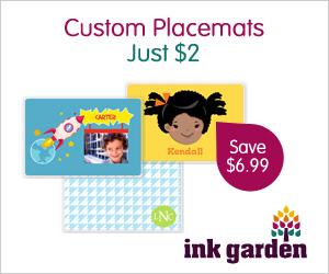 Custom Placemat - Just $2