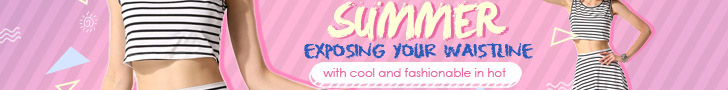Exposing your waistline with cool and fashionable in hot summer