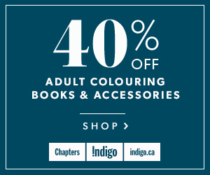 40% off Colouring Books and Accessories (Sept 22 - 25)