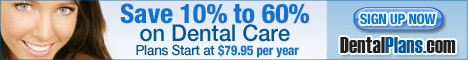 Sign up now and save 10% to 60% on Dental Care