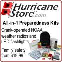 Emergency Supplies and Preparedness Kits at Hurric