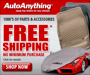 Save on auto accessories w/Free Shipping.