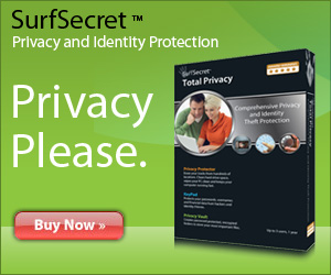 SurfSecret Privacy and Identity Theft Protection