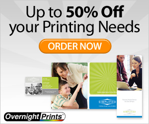 40% Off 1,000 or More Business Cards