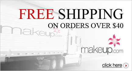 Free Shipping on orders over $40 at MakeUp.com!