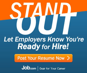 Let employers know you're ready for hire!
