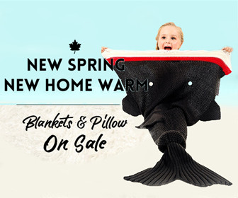 Get 20% OFF Blankets & Pillow On Sale.
