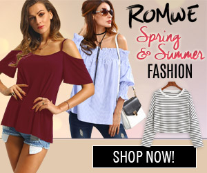 Shop ROMWE for the latest in Spring and Summer fashion
