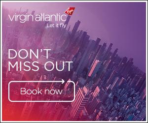 Virgin Atlantic flights to London