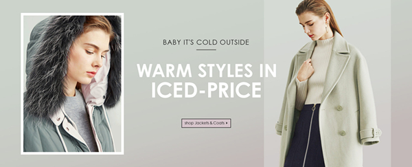 Keep You Warm: Up to 60% OFF Coats