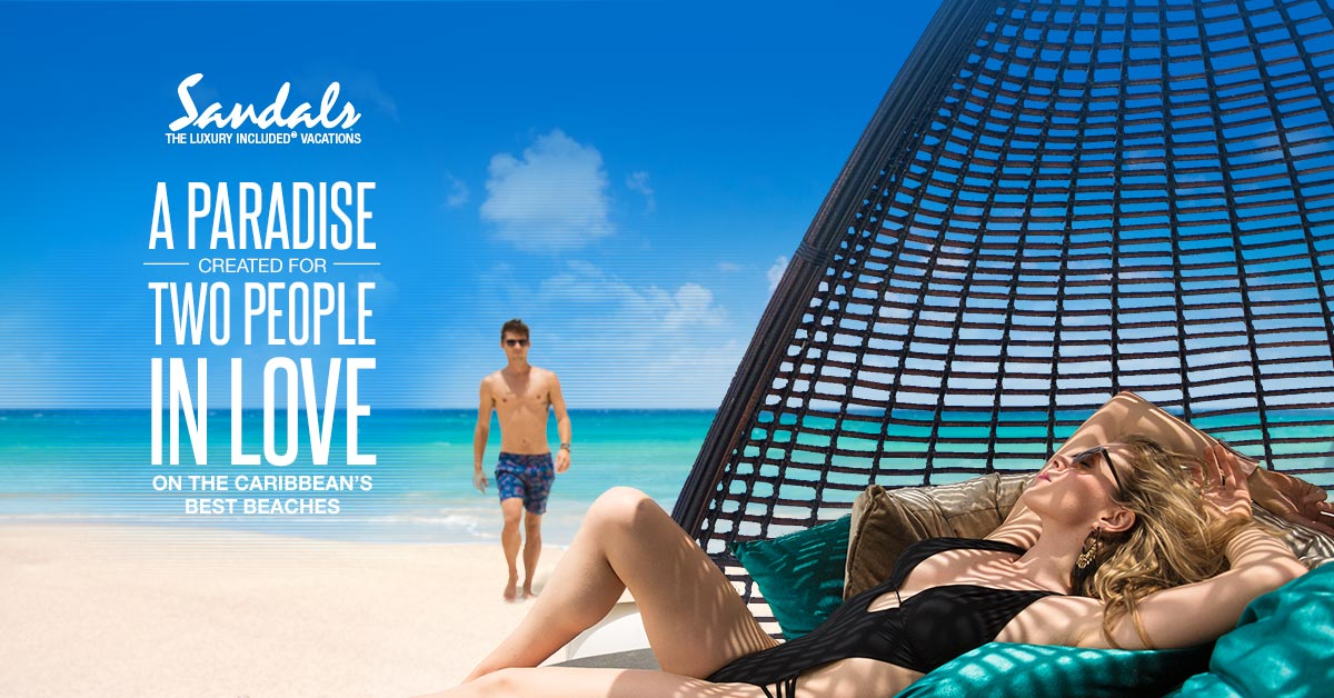 ll-Inclusive Sandals Resorts - For Two People In Love